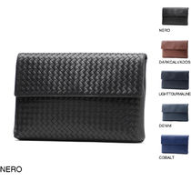 BOTTEGA VENETA Calfskin A4 Clutches