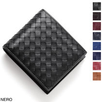 BOTTEGA VENETA Calfskin Folding Wallets