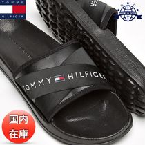 Tommy Hilfiger Unisex Plain Shower Shoes Shower Sandals