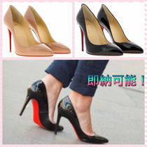 Christian Louboutin Pigalle Follies Plain Pin Heels Elegant Style Stiletto Pumps & Mules