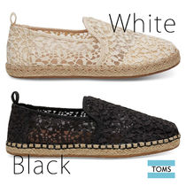 TOMS Casual Style Plain Slip-On Shoes