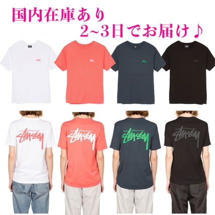 Crew Neck Plain Cotton Short Sleeves T-Shirts