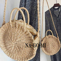 Casual Style 2WAY Straw Bags
