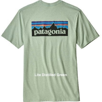 Patagonia More T-Shirts Unisex Short Sleeves Logo Outdoor T-Shirts 10