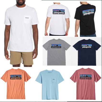 Patagonia More T-Shirts Unisex Short Sleeves Logo Outdoor T-Shirts