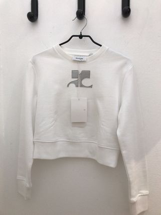 Short Long Sleeves Plain Cropped
