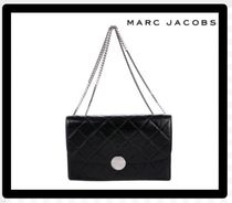 MARC JACOBS 2WAY Chain Plain Leather Party Style Shoulder Bags