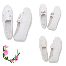 kate spade new york Round Toe Low-Top Sneakers