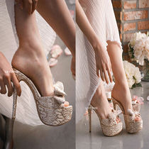 Camouflage Open Toe Platform Party Style Home Party Ideas