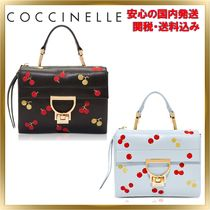 COCCINELLE Casual Style 2WAY Leather Shoulder Bags