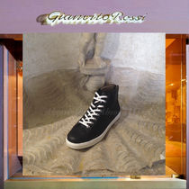Gianvito Rossi Plain Leather Sneakers