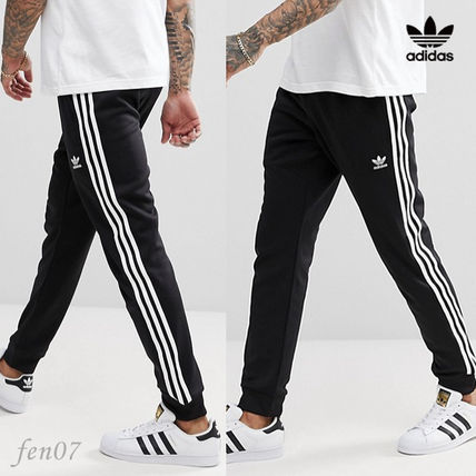 adidas SUPERSTAR Stripes Street Style Joggers