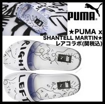 PUMA Casual Style Shower Shoes Flat Sandals