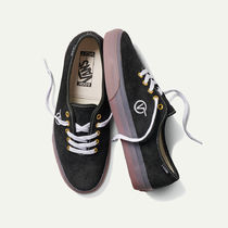 VANS AUTHENTIC Unisex Suede Street Style Collaboration Sneakers