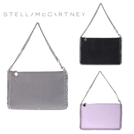 ... Stella McCartney Clutches 2WAY Chain Plain Party Style Clutches ...