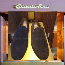Gianvito Rossi Plain Toe Loafers Suede Plain Loafers & Slip-ons
