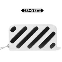 Off-White Long Wallets