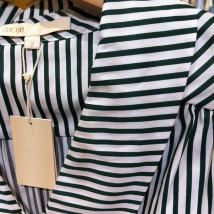 maje Dresses Stripes Cotton Dresses 9