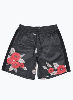 Flower Patterns Street Style Shorts