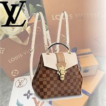 Louis Vuitton DAMIER Damie CLAPTON BACKPACK Backpacks