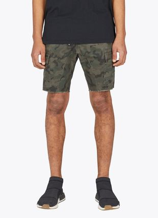 Camouflage Street Style Cotton Cargo Shorts