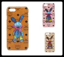 MCM Other Animal Patterns Leather Smart Phone Cases