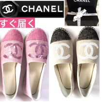 CHANEL Round Toe Shoes