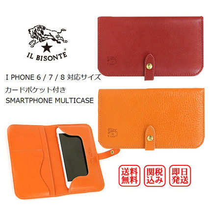 Unisex Plain Other Animal Patterns Leather Handmade