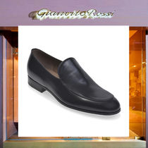 Gianvito Rossi Plain Toe Loafers Plain Leather Loafers & Slip-ons