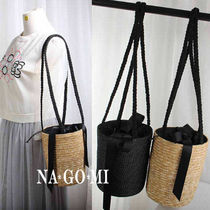 Casual Style Purses Straw Bags