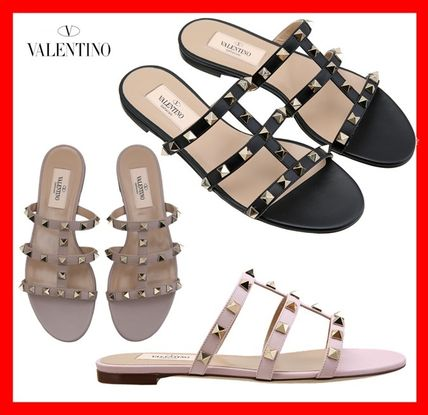 Elegant 2018 Street Ss Leather Sandals Style Valentino By srdQthC