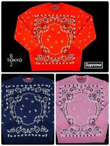 Supreme Unisex Street Style Long Sleeves Knits & Sweaters
