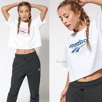 Reebok Crew Neck Short Cotton Short Sleeves Cropped