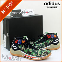 adidas Camouflage Street Style Collaboration Sneakers