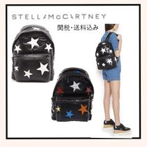 Stella McCartney FALABELLA Star Casual Style A4 Backpacks