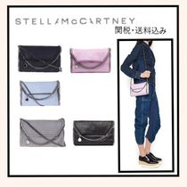 Stella McCartney FALABELLA 3WAY Plain Shoulder Bags