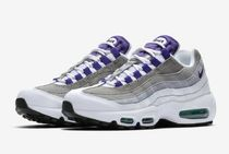 Nike AIR MAX 95 Plain Toe Rubber Sole Casual Style Unisex Street Style