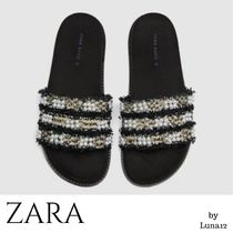 ZARA Casual Style Sandals Sandals