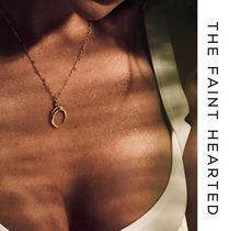 THE FAINT HEARTED Costume Jewelry 14K Gold Necklaces & Pendants