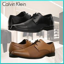 Calvin Klein Straight Tip Plain Oxfords