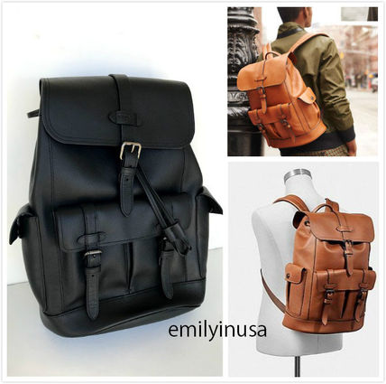 A4 Leather Backpacks