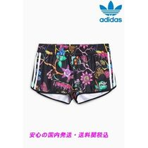 adidas Short Flower Patterns Casual Style Street Style Shorts