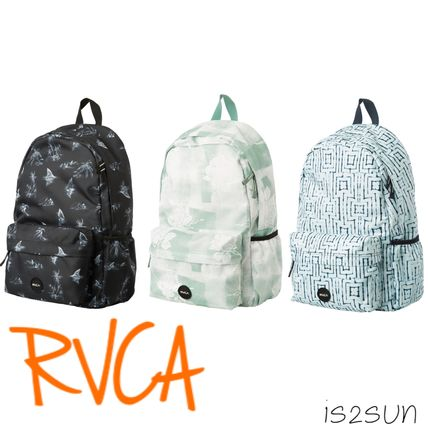 Casual Style Unisex Street Style A4 Backpacks