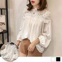 Puff Sleeves Shirts & Blouses