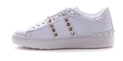 VALENTINO Low-Top Leather Elegant Style Low-Top Sneakers 4