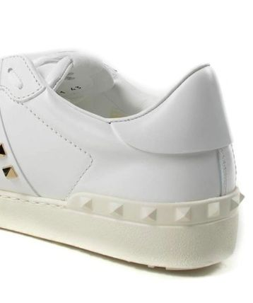 VALENTINO Low-Top Leather Elegant Style Low-Top Sneakers 7