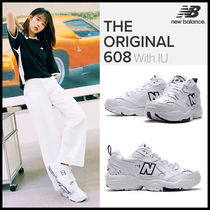 New Balance Casual Style Plain Leather Low-Top Sneakers