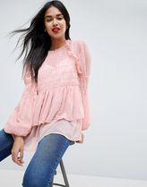 ASOS Casual Style Puffed Sleeves Shirts & Blouses