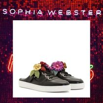 SOPHIA WEBSTER Rubber Sole Casual Style Sabo Low-Top Sneakers