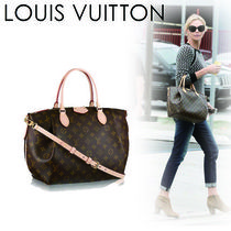 Louis Vuitton MONOGRAM Monogram Casual Style Canvas A4 2WAY Handbags